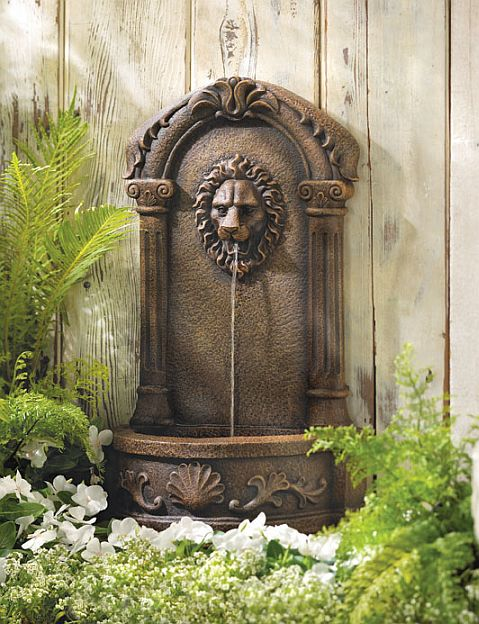 Lion Fountain for Home