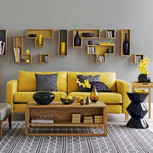 Image of: Living Room Art Design