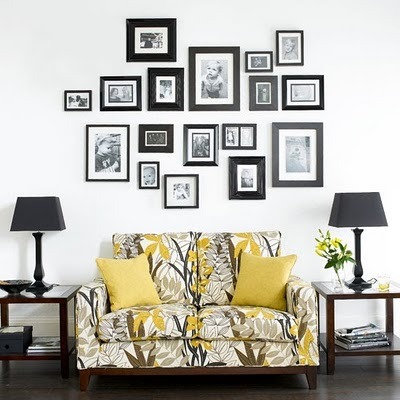 Image of: Living Room Art Ideas with Photograph