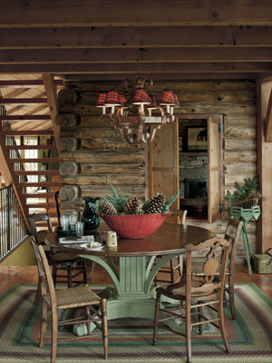 Image of: Living Room with Cabin Fever