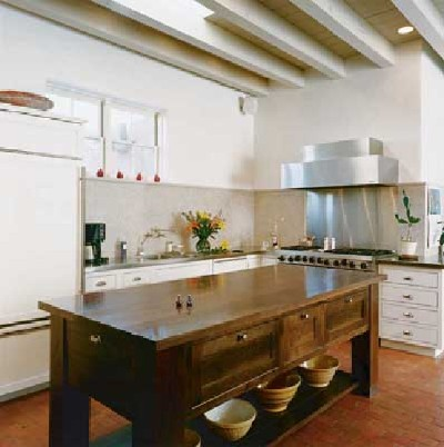 Long Table French Farmhouse Kitchens Designs Photo