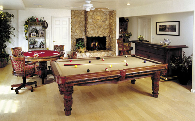 Image of: Luxurious Game Room Design