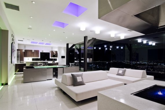 Image of: Luxury Interior Lighting Design
