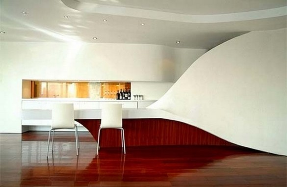 Image of: Mini Bar Apartment Design