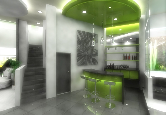 Image of: Mini Bar Design for House