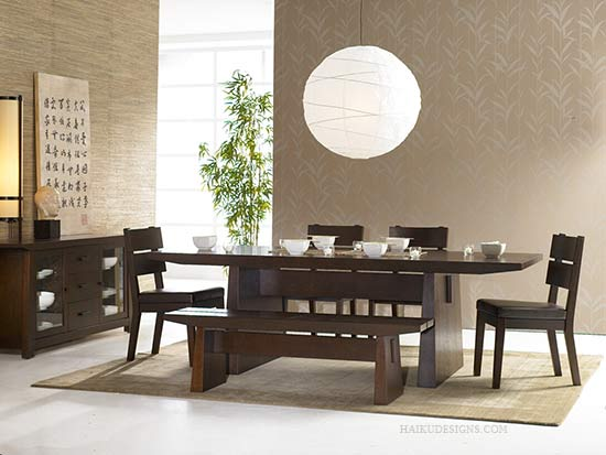 Image of: Minimalist Dining Room Design