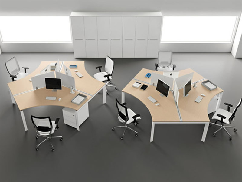 Modern Office Design with Open Space