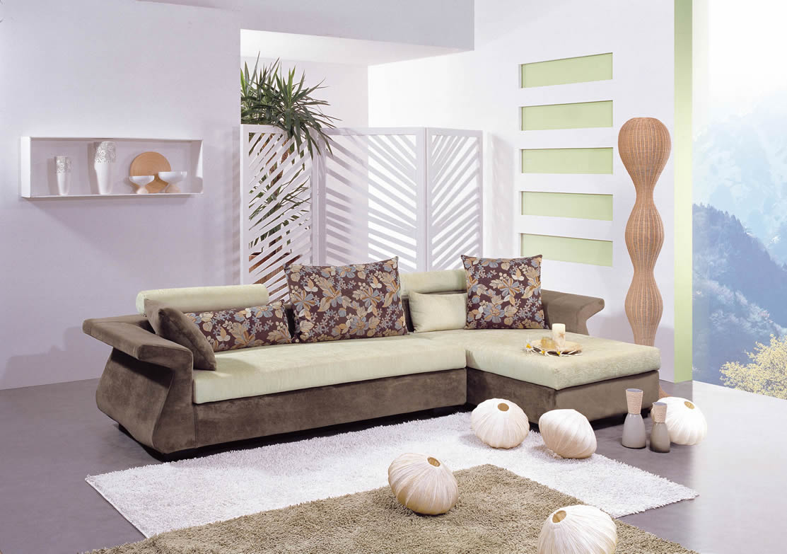 Image of: Modish Living Room Furniture