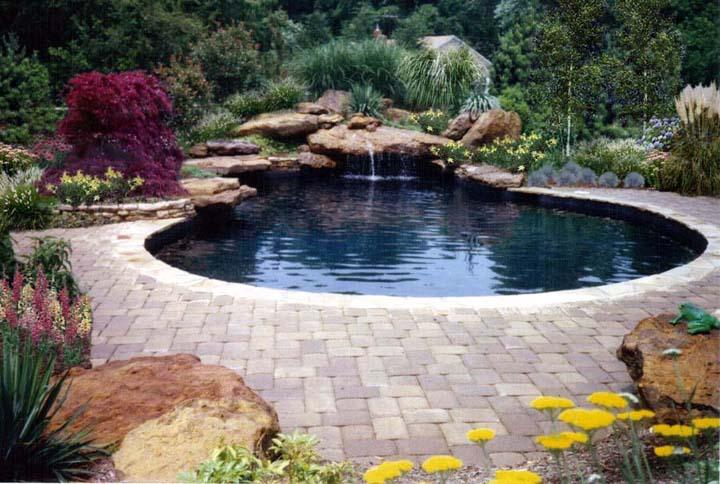 Natural Swimming Pool Rocks