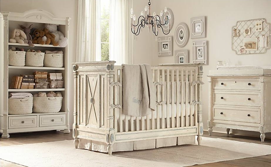 Image of: Neutral Baby Room Decoration