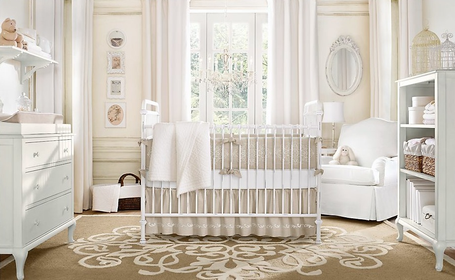 Neutral Baby Room Design