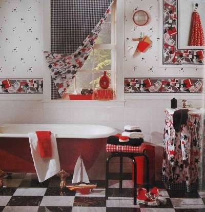 Image of: Old Fashioned Bathroom Style