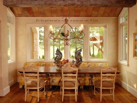 Image of: Old Style French Farmhouse Table