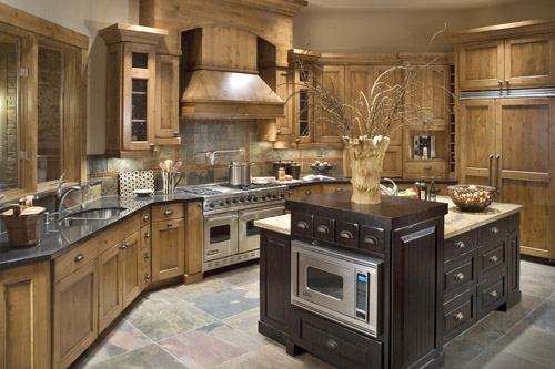 Old World Kitchen for Rustic Style