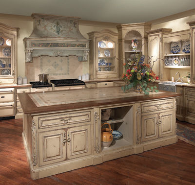 Old World Style for Kitchens