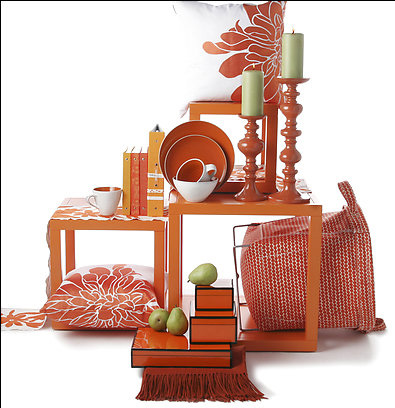 Orange Home Decor Accessories