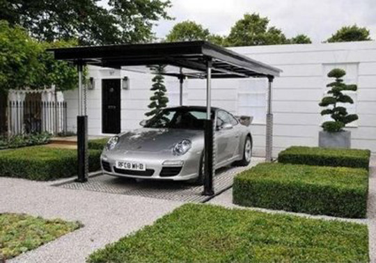 Outdoor Garage Design Ideas