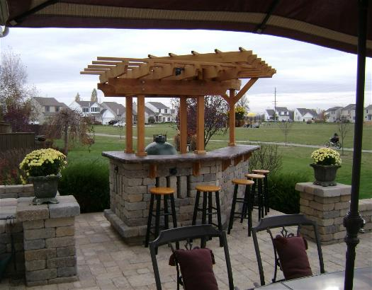 Image of: Outdoor Home Bar Design