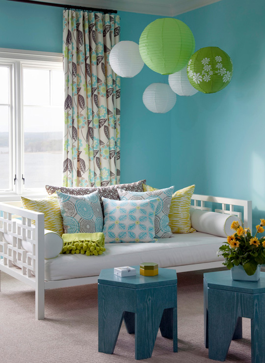 Image of: Paper Lantern in Bedroom