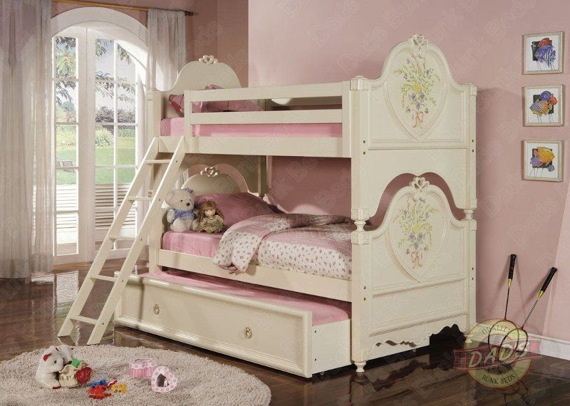 Princess Twin over Twin Bunk Bed