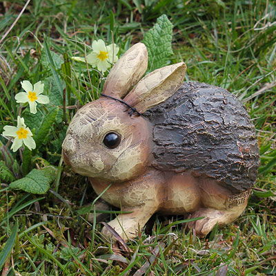 Image of: Rabbit Garden Ornament