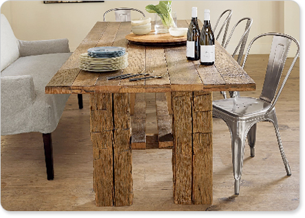 Image of: Rustic Dining Room Table Sets