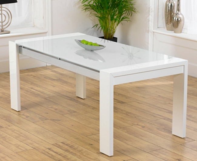 Image of: Scala White Kitchen Table