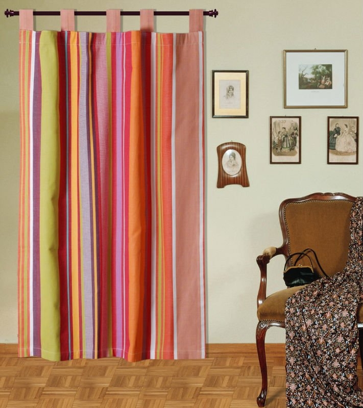 Sewing your Own Tab Top Curtain