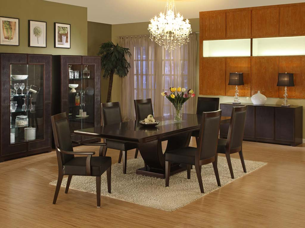 Image of: Simple Contemporary Dining Room Furniture