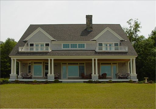 Simple Shingle Style Home