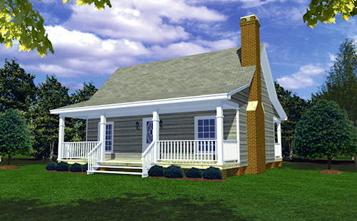 Image of: Small House Plan