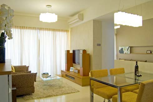 Small Living Hall Design