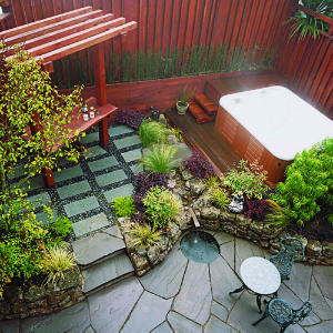 Image of: Small Space Garden Idea