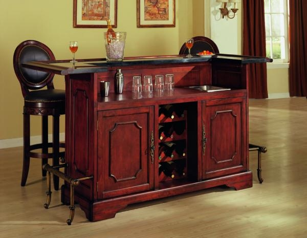 Image of: Space Saving Home Bar