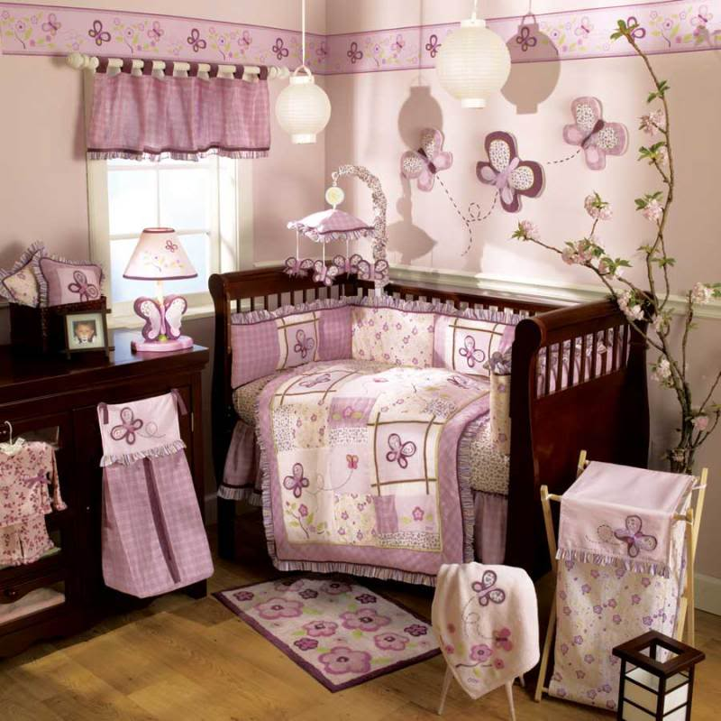 Image of: Sugar Plum Girl Nursery