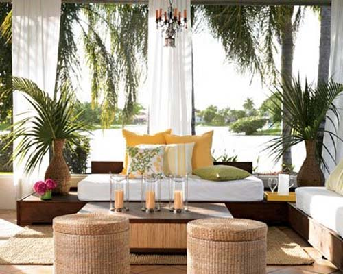 Summer Patio and Balcony Decorating Ideas