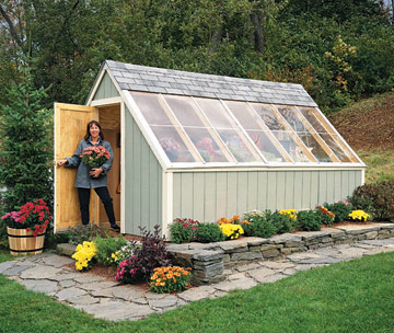 Image of: Sun-Loving Shed