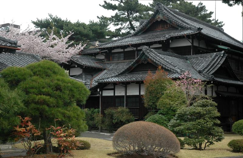 Image of: Traditional Japanese House