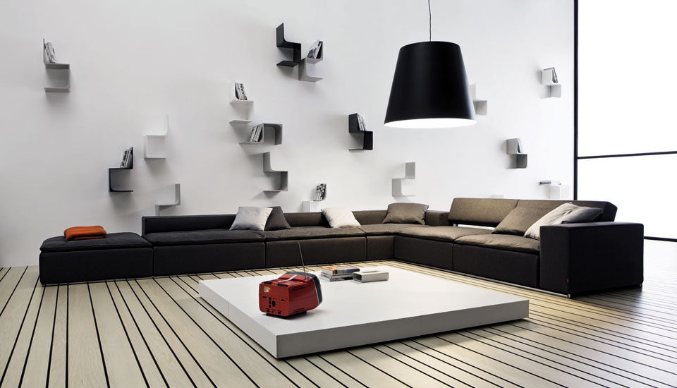 Image of: Trendy Living Room Wall Decor Ideas