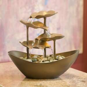 Image of: Unique Bowl Fountain for Home