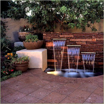 Image of: Unique Water Fountain for Garden