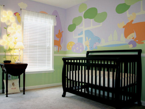 Image of: Unisex Baby Room Decor
