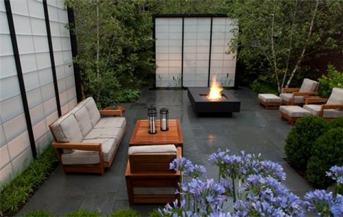 Image of: Urban Courtyard Garden