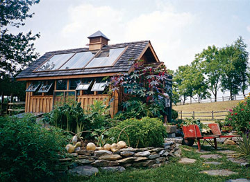 Image of: Vegetable-Garden Shed