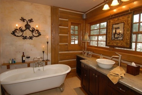 Victorian Bathroom Designs Rustic