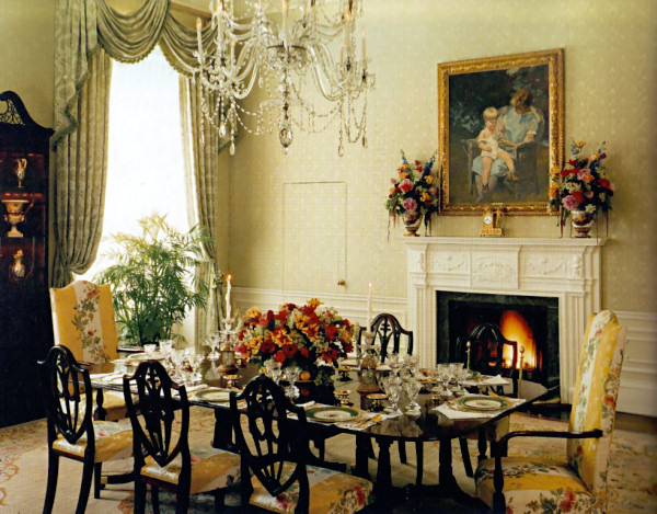 Image of: Victorian Home Decor for Dining Room