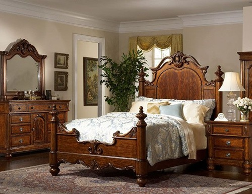 Image of: Victorian Style Furniture for Bedroom