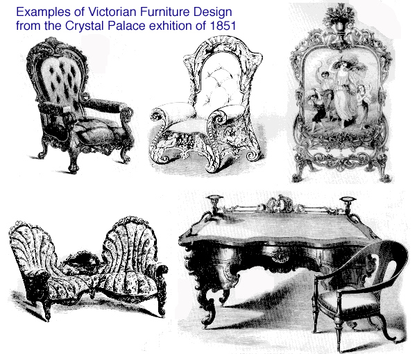 Image of: Victorian Style Furniture