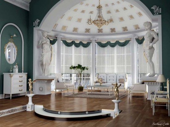 Image of: Victorian and Classic Interior