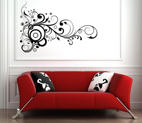 Image of: Wall Art Room Decoration Idea